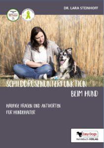 """Buchtitel des Buchs """"Schilddrüsenunterfunktion beim Hund"""""""