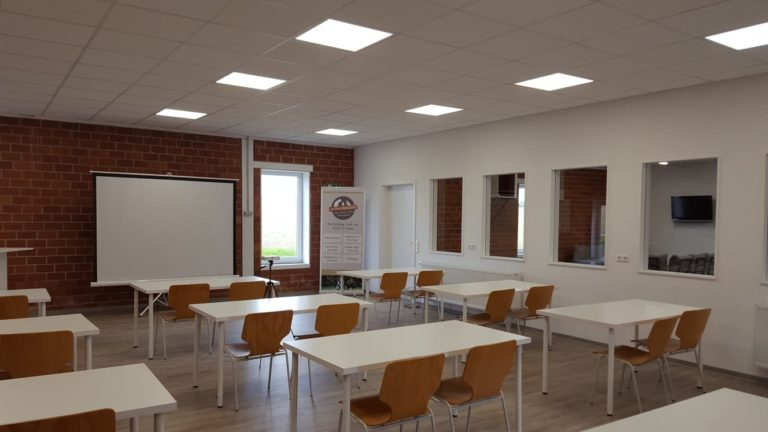 Seminarraum der Pfoten-Werkstatt